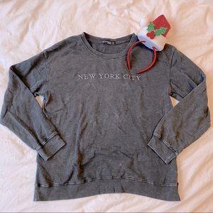 ⚡️FLASH SALE👚NYC Embroidered Sweatshirt